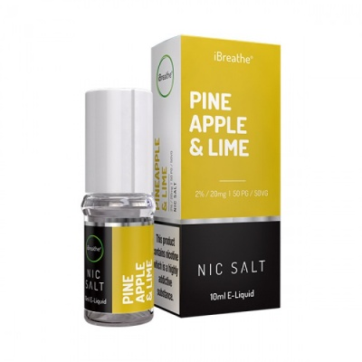 PINEAPPLE & LIME iBreathe Nic Salt E-Liquid | 20mg - 10ml